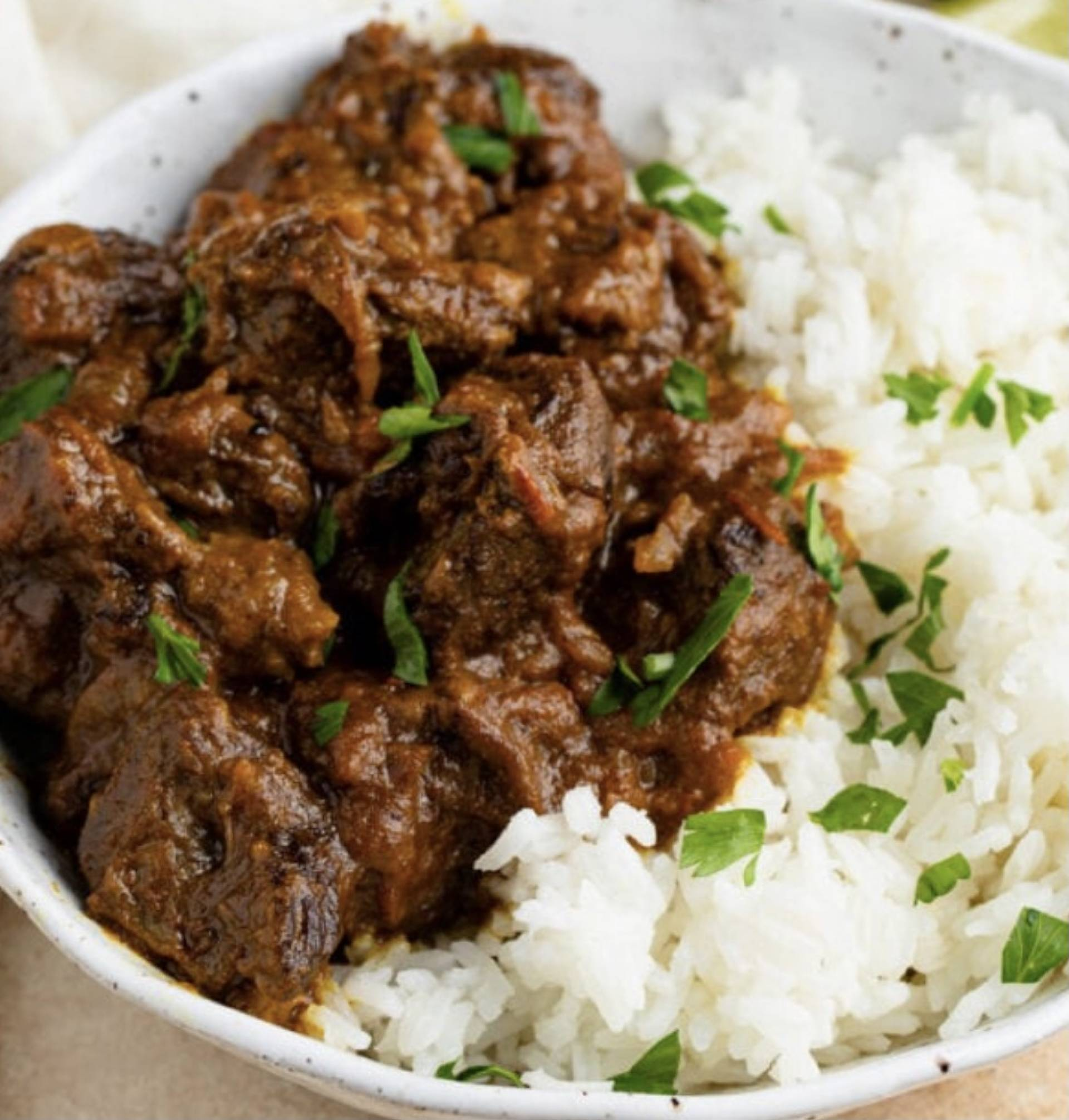 Beef Curry & Rice